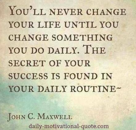 Daily Motivational Quote Simple A Daily Motivational Quote Can Change Your Life.""